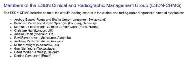 Radiographic group