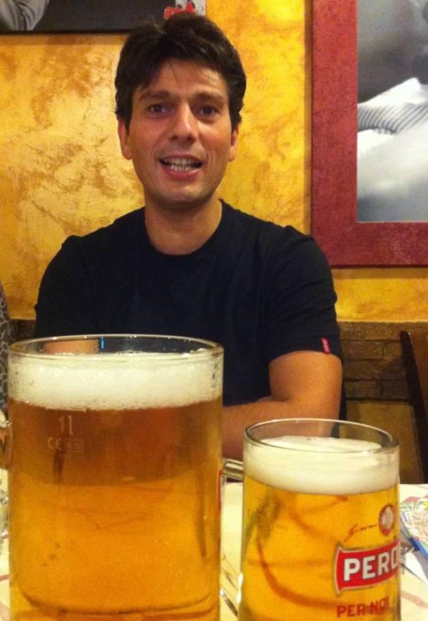 David and beer