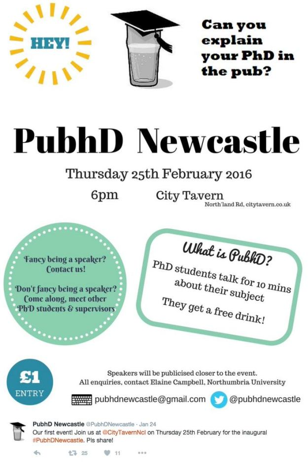PubhD Newcastle
